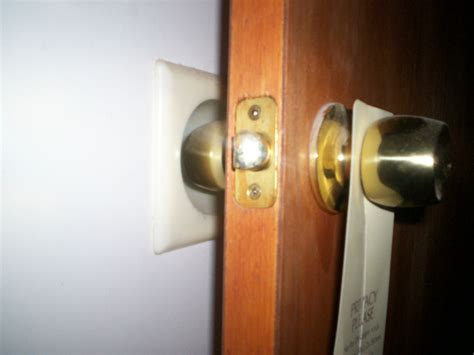 How To Fix In Wall From Door Knob by Wall Guard Wall Repair Door Knob Damage Fix Repair Ivory