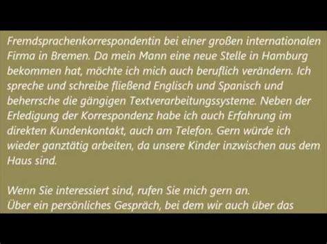 Bewerbungbchreiben Meaning Deutsche Brief A1 A2 B1 Pr 252 Fung 9 Bewerbung Schreiben