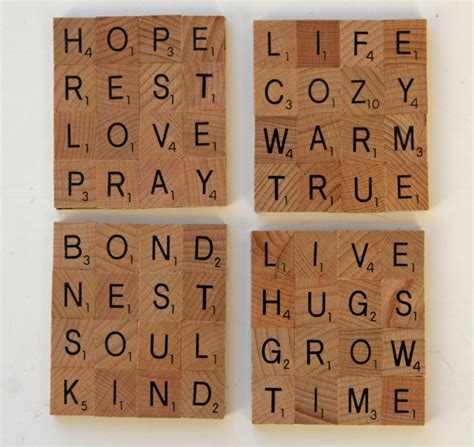 scrabble tile craft best 25 scrabble tile crafts ideas on