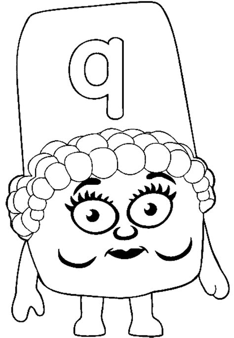 alphablocks coloring pages coloring pages