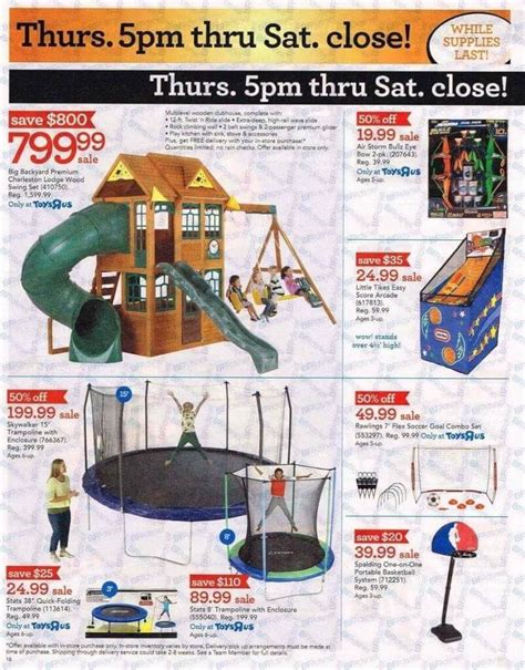 swing sets black friday deals toys r us black friday ad for 2016 thrifty momma