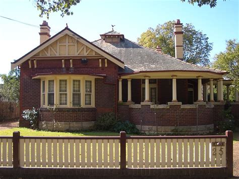 house windows australia federation home bungalow with bay window verandah situated on appian way burwood