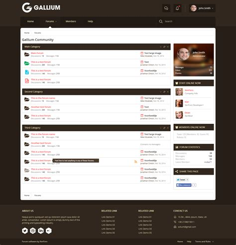 templates for xenforo news and announcements page 4 brivium premium