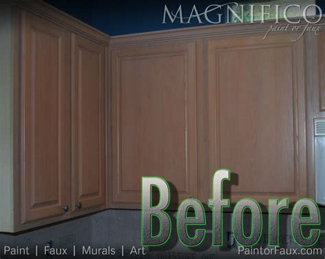 Pickled Cabinets Before And After by Builder Grade Oak Cabinets With Pickled Oak Stain Before