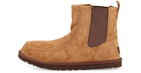 light brown chelsea boots brown ugg chelsea boots