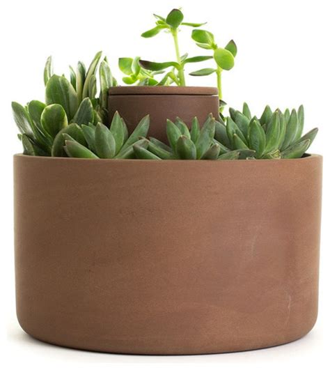 self watering indoor planters self watering terra cotta pot contemporary indoor pots