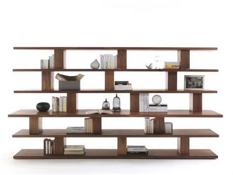 open wall shelves cabinet storage stylish solid wood bookcase unique