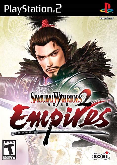 Warrior Ps2 Original samurai warriors 2 empires characters bomb