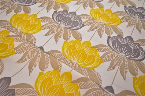 yellow upholstery fabric uk roma yellow floral curtain fabric cotton