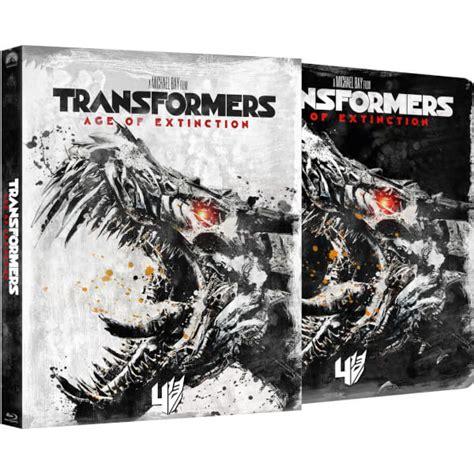 Transformers The Uk Exclusive Steelbook uk transformers 1 4 zavvi exclusive steelbook