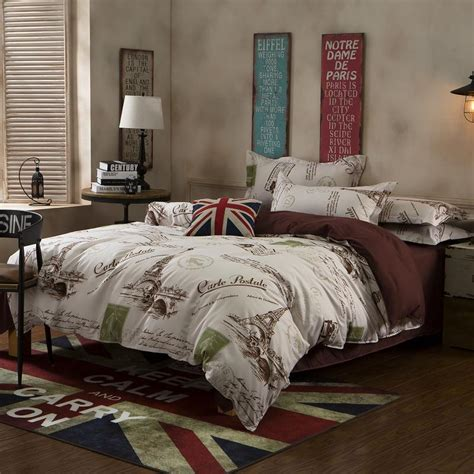 paris queen comforter set new paris western modern city king queen full size