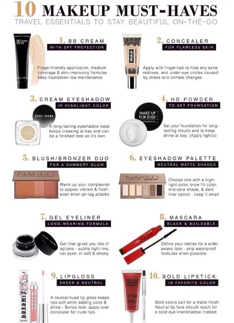 7 Makeup Must Haves For November by Quot 10 Makeup Must Haves Quot Musely