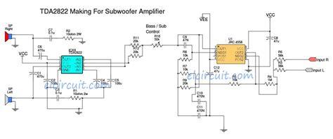 tda   subwoofer power amplifier audio