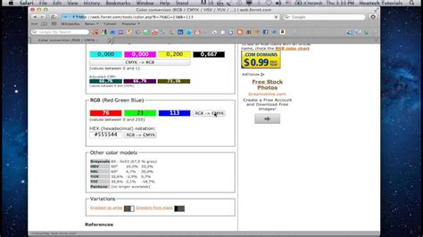 pantone color converter how to convert rgb to cmyk