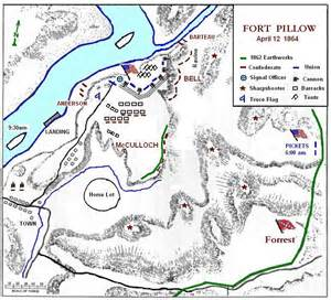 the battle of fort pillow tennessee american civil war