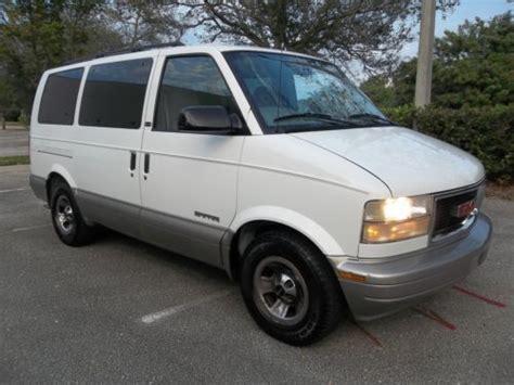buy used 2002 gmc safari sle passenger van in west palm beach florida united states for us