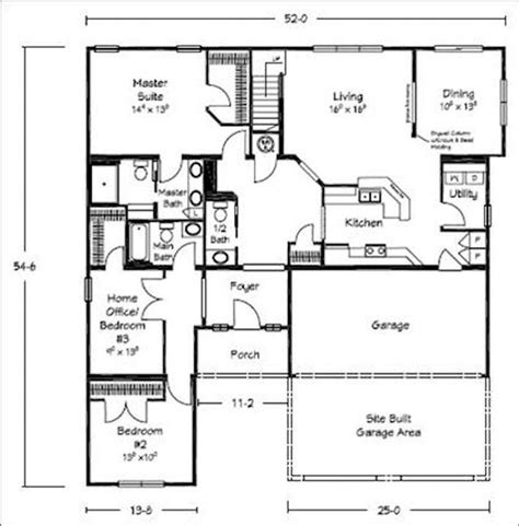 modular home floor plans indiana 17 best ideas about bungalow floor plans on pinterest