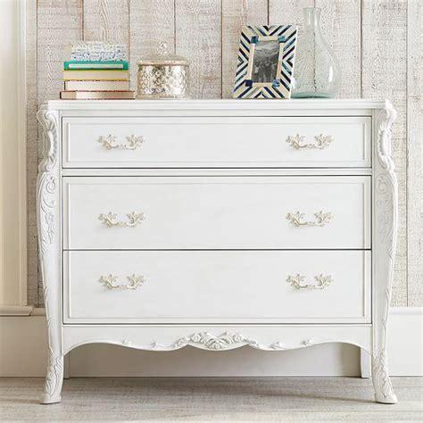 All White Dresser by Carved White Vintage Dresser