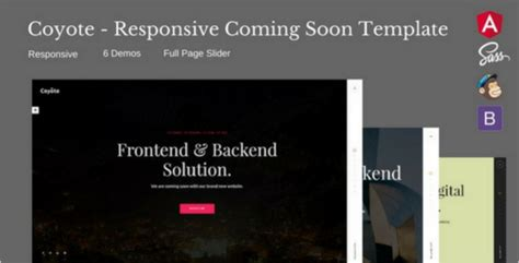 33 best responsive coming soon templates free premium