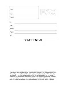 printable fax cover letter template confidential fax cover sheet printable cover letter