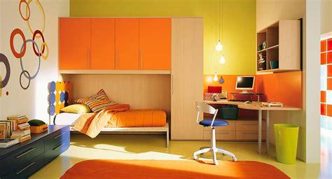 interior exterior plan orange themed interior  kids