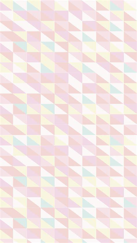 rose pattern screen lock pastel pink yellow mint geometric pattern iphone wallpaper