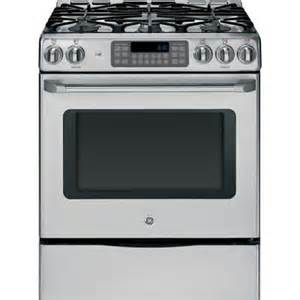 home depot gas ranges ge cafe 30 in 5 4 cu ft gas range with self cleaning