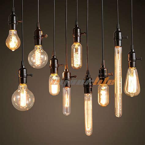 filament bulb light fixtures 40w 60w filament light bulbs vintage retro industrial style edison l e27 e4mo ebay