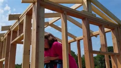 build  shedplayhouse chapter  roof rafters