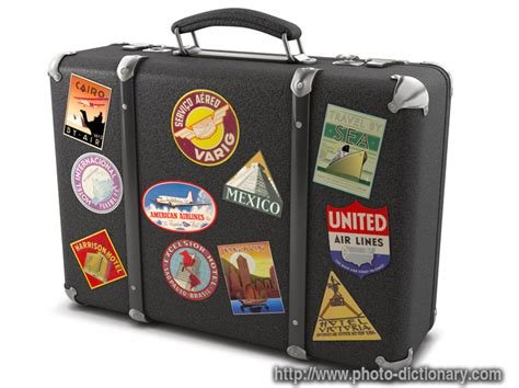 suitcase photo picture definition at photo dictionary
