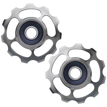 Ceramicspeed Pulley Wheel Sram 11 Spd Aloy Cspw10702000 ceramicspeed ceramic titanium pulley wheels for shimano 11 speed pair