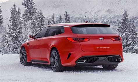 Kia Wagon Kia Optima Wagon Previewed By Sportspace Concept Kia