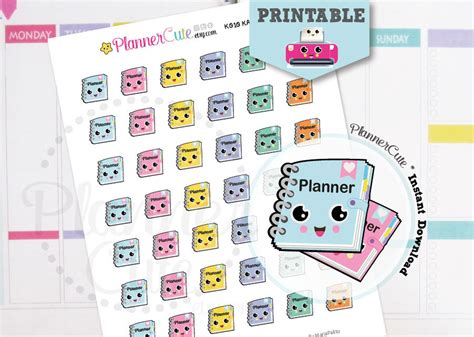 free printable kawaii planner stickers planner girl stickers kawaii printable planner stickers