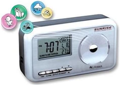 lifemax nature sounds alarm clock electronic alarm clocks