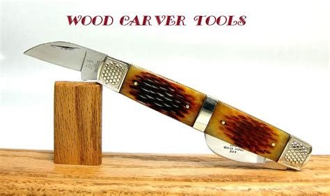 folding wood carving knife wood carver tools 2bl wharncliffe wood carving