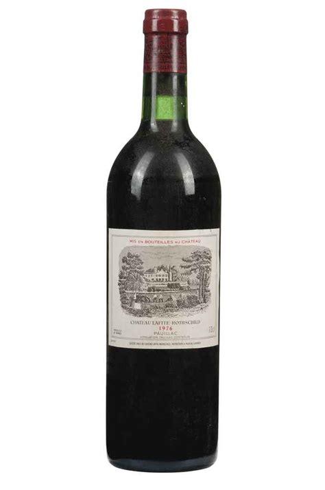 chateau lafite rothschild best vintage ch 226 teau lafite rothschild vintage 1976 6 bottles per
