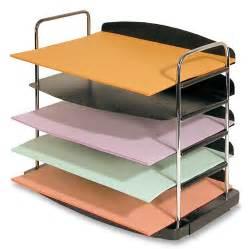 desk tray buddy trio line 5 tier horizontal desk tray mi office supply