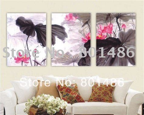 Dekorasi Dinding Rumah Kantor Lukisan Kanvas Motif Bunga Ls 3843 1 buy grosir cina floral lukisan from china cina floral lukisan penjual aliexpress