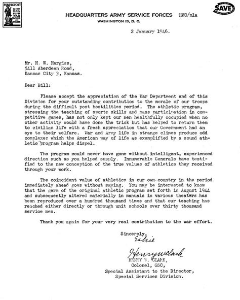 army eo appointment letter appreciation letter us army letter of appreciation to