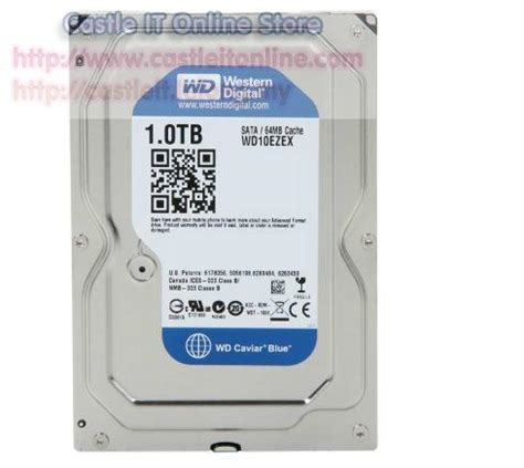 Wd Blue 1tb Hdd Int 35 western digital hdd int desktop caviar blue 1tb 64mb