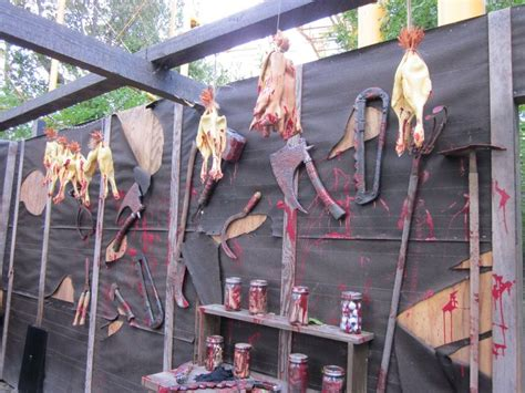 the scariest halloween decorations the house shop blog 58 best themes farm slaughterhouse ranch images on