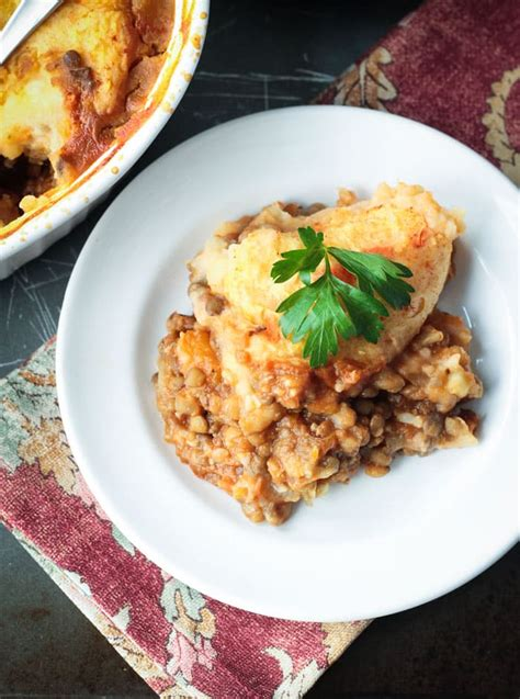 Vegetarian Cottage Pie Oliver Sweet And Smoky Bbq Lentils Tomato Free Veggie Inspired