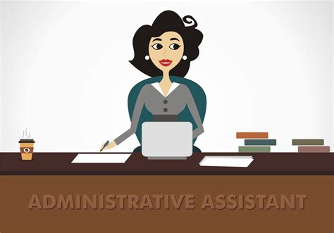 administrative assistant free vector free