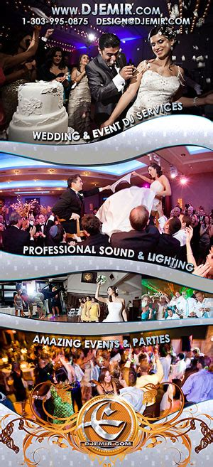 Wedding Dj Flyer
