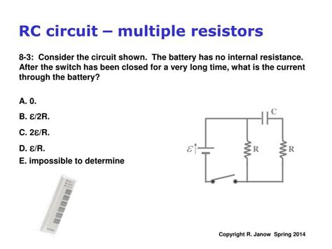 several resistors are connected in series which of the following statements is correct ppt kirchhoff s multi loop circuit exles rc circuits charging a capacitor powerpoint