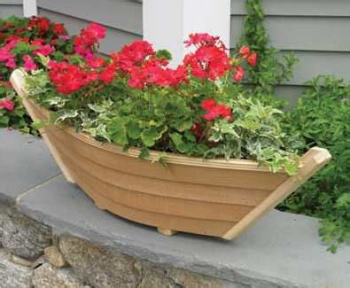 Wooden Boat Planter Plans