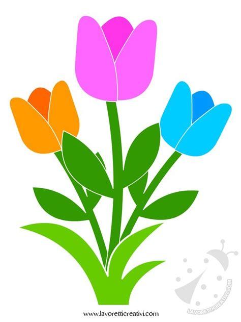 come colorare i fiori decorazioni primavera con fiori