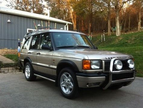 how cars run 2001 land rover discovery lane departure warning sell used 2001 land rover discovery series ii se in louisville kentucky united states
