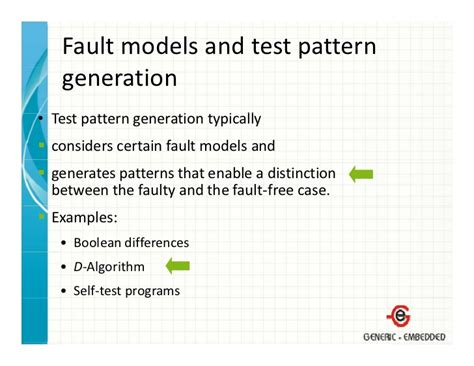 test pattern generation using boolean satisfiability introduction to embedded system design