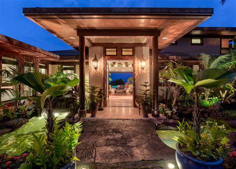splendid tropical entrance designs